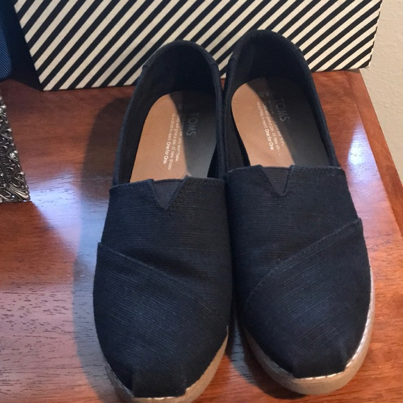 Toms Shoes | Toms Alpagarta Crepe Black
